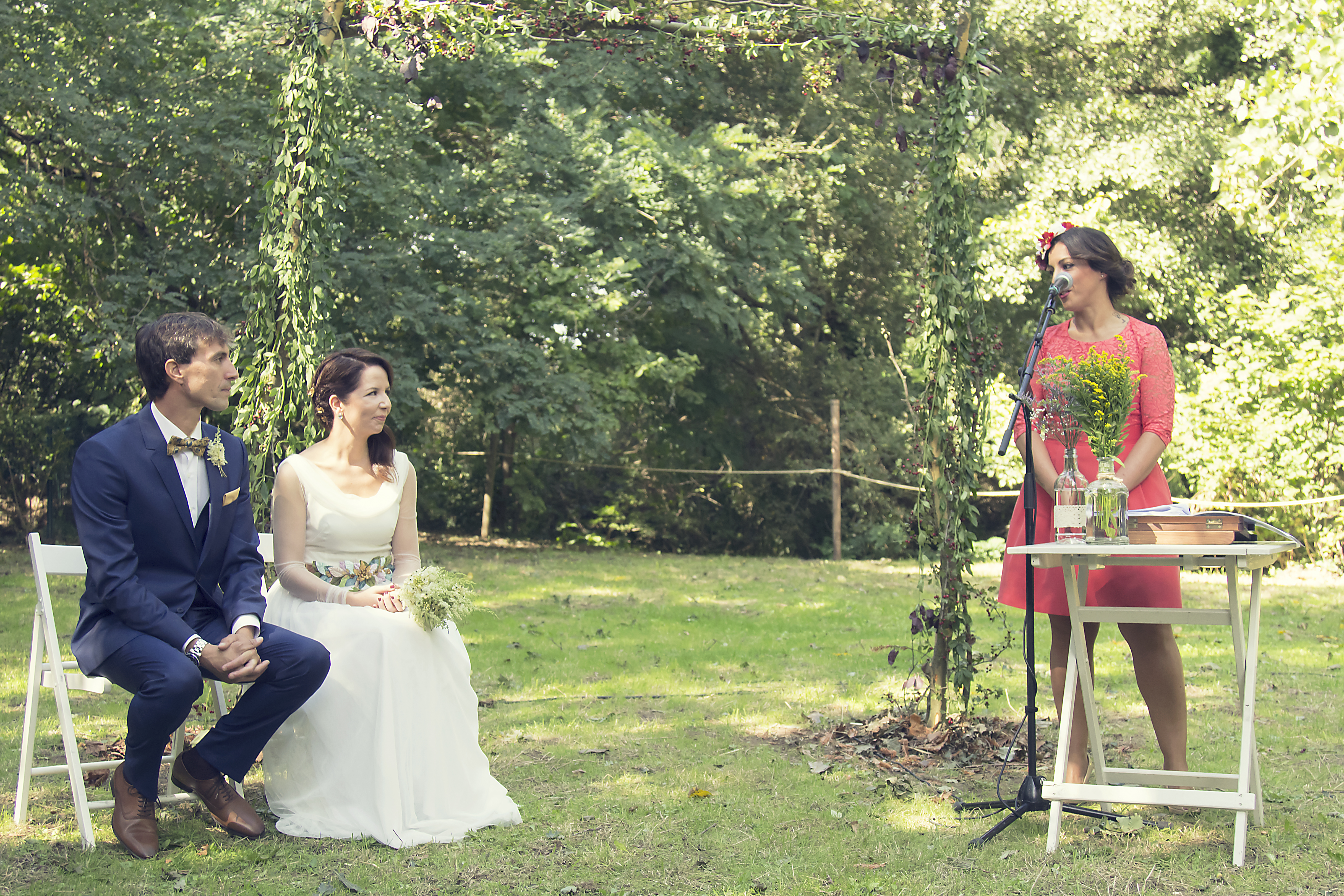 La boda de Cristina y David en Tanos