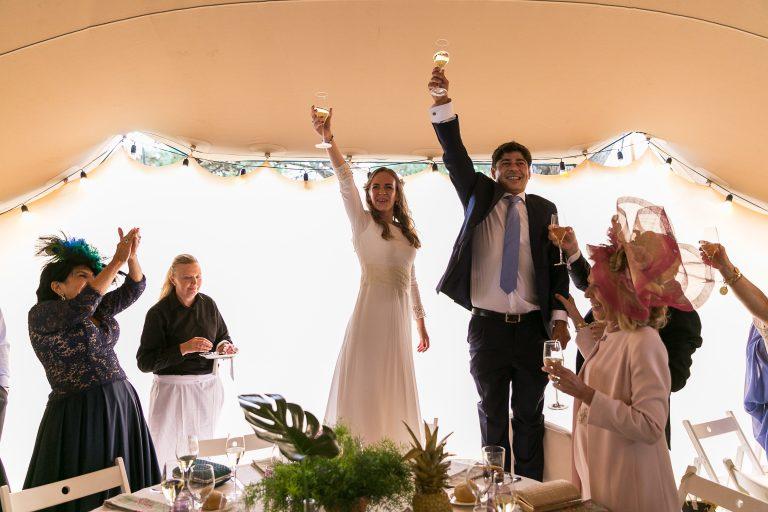 La boda de María y Manu en la finca El Pinón