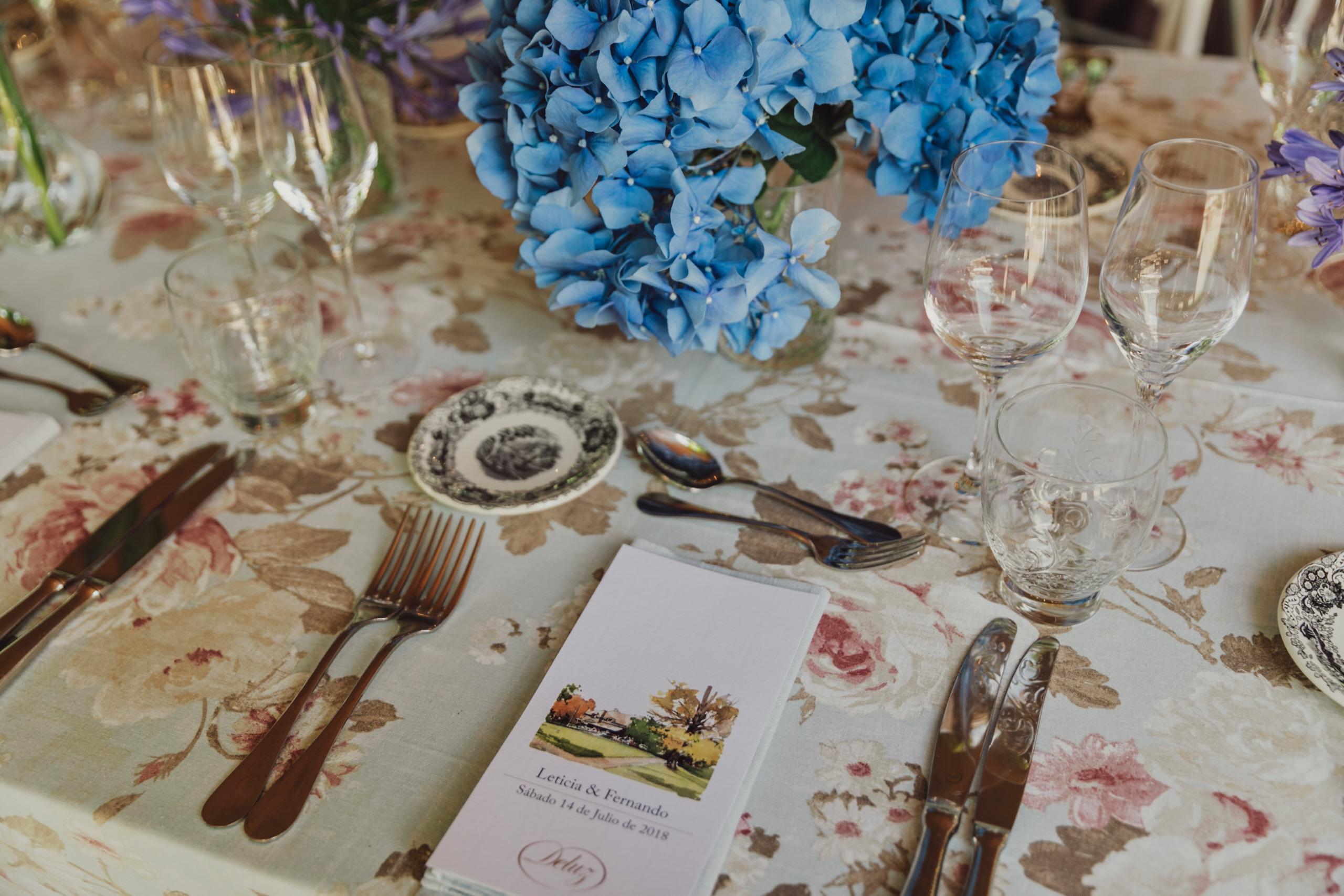 Comer como reyes en las bodas Deluz